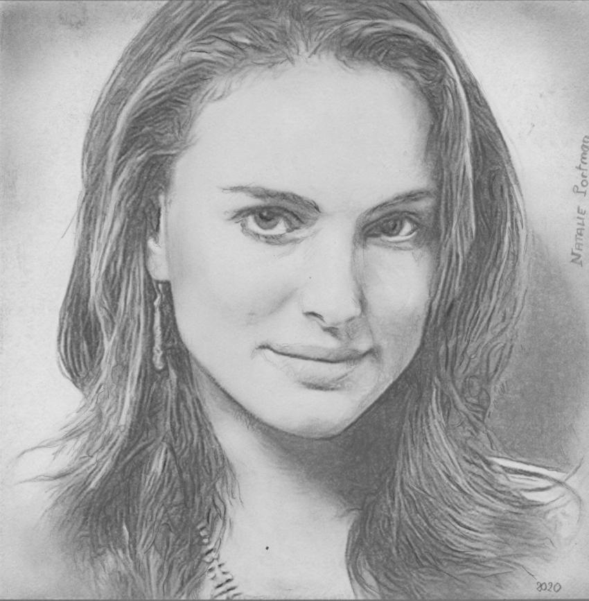 Natalie Portman par baudet